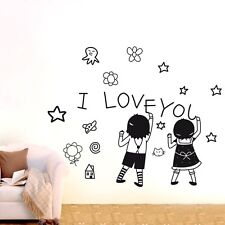 Graffiti Children Removable Wall Stickers Vinyl Wall Decals Kids Room Decor DIY