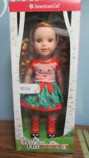 "AMERICAN GIRL WELLIE WISHERS WILLA Doll 14.5 "" Inch NEW in Box"