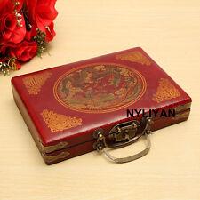 High Quality Portable Collect 144 Bamboo Mah-JongSetChinese Mahjon W/Box