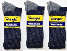 Wrangler Premium Performance Work Boot Socks, Moisture Wicking, 6 pr $21.99