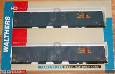 WALTHERS 932-23509 PULLMAN STANDARD 86' HI-CUBE BOXCAR 4 DOOR 2-PACK GOLDEN WEST