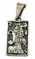 Santa Muerte Grim Reapear Holy Death .925 Sterling Silver Pendant Mexico Taxco