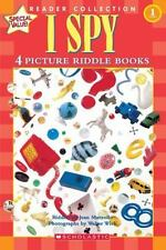 Scholastic Reader Level 1: Four Picture Riddle Books by Jean Marzollo (2005,...
