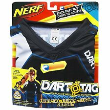 Nerf Dart Tag Official Competition Jersey Blue & Black Size L/XL New!