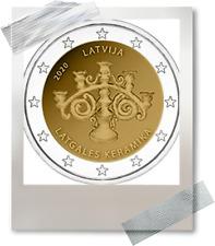 2 EURO *** Lettonie 2020 Letland *** La céramique de Latgale keramiek !!!