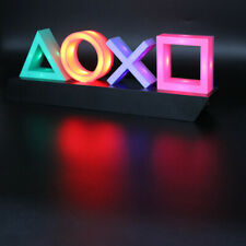 Playstation Sign Voice Control Game Icon Light Acrylic Atmosphere Neon Ornament