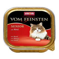 32 x 100 g Animonda vom Feinsten Senior mit Rind Nassfutter für Katzen ab 7