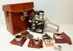 CAMERA LD8 - P.LEVEQUE - Modèle 1123 - 8 mm - 1952 /1960 - N°1201 - COLLECTOR
