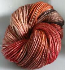 Nouvelle annonce 100 g de main-Teint DK 100% Pure Britannique Laine à tricoter * CW: Petra (deep)