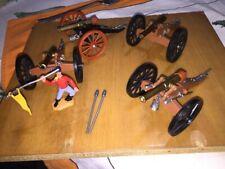 Timpo Gunner With Four Original Cannons Rares Set
