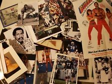 NFL FOOTBALL & HOLLYWOOD ACTOR BUBBA SMITH PERSONAL ARCHIVE PHOTOS, SIGNED, ETC