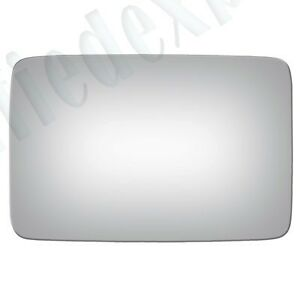 MIRROR-GLASS+ADHESIVE~MANUAL RIGHT PASSENGER/LEFT DRIVER SIDE(See Compatibility)
