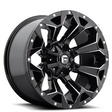 "4New Off Road 20x10"" Fuel Wheels D576 Assault Gloss Black Milled Rims"