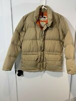 Vintage 70s The North Face Down Puffer Jacket Small Coat Brown Label Mens Nuptse