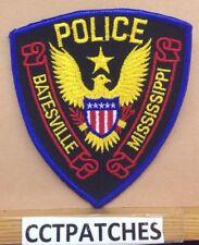 BATESVILLE, MISSISSIPPI POLICE STOCK EAGLE SHOULDER PATCH MS