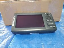 Lowrance Elite-7 Chirp with cover, Gimbal bracket and Ram mount. No cables.