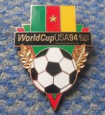 TEAM CAMEROON WORLD CUP SOCCER FOOTBALL FUSSBALL USA 1994 PIN BADGE