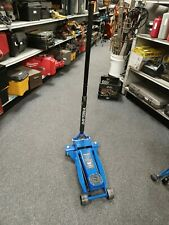 Daytona 3 Ton 6000 Lb Floor Jack Racing Blue Model Ds300sbl A X