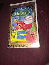 Disney Masterpiece The Little Mermaid VHS  1998 New & Sealed Special Edition