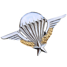 FRENCH ARMY FORIGEN LEGION AIRBORNE FORCES METAL PARACHUTE WINGS PARA WINGS