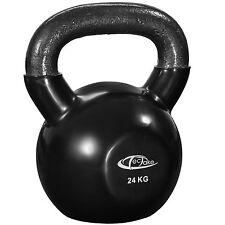Kettlebell formazione Bollitore Bell peso con maniglia ginnastica Fitness 24kg
