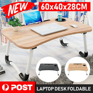 Laptop Table Bed Stand Desk Lap Tray Sofa Computer Portable Foldable Adjustable