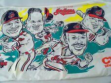 """Cleveland Indians 1997 Pillow Case ALCS Champs 19"""" x 31"""" CVS"""