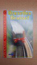 ► MIVB-STIB Brussel / Bruxelles - plan van het net / du réseau (05-1991)