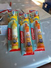 Colgate Minions Battery Operated Extra Soft Toothbrush BNIB SEALED