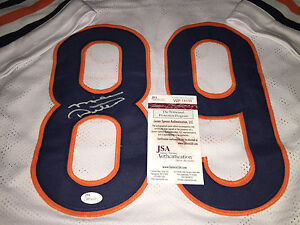 Mike Ditka Chicago Bears Autographed Signed White Jersey JSA WITNESS COA