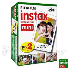 20 pcs boîte Fujifilm Instax Mini Film instantané IMAGE POUR APPAREIL PHOTO 7S
