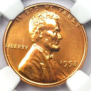 1952 Proof Lincoln Wheat Cent Penny 1C - NGC PR68 RD (PF68) - $1,500 Value!