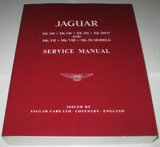 Werkstatthandbuch Jaguar XK 120 / 140 / 150 / 150 S + Mk. VII / VIII / IX