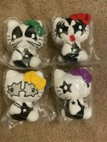 SANRIO Hello Kitty x KISS Collaboration 4 set import from Japan F/S NEW