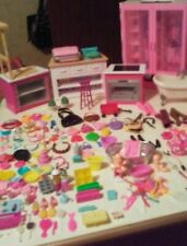 Barbie Furniture & Misc Items. Almost 200 Pieces