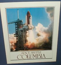 SPACE SHUTTLE COLUMBIA PHOTGRAPH POSTER
