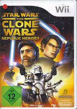""" Star Wars - The Clone Wars: Republic Heroes "" (Nintendo Wii)"