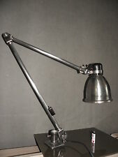 antique wall lamp table desk light fabrilux vintage industrial age bauhaus old