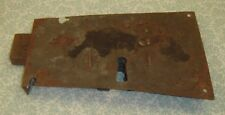 Antique 1700-1800 Hand Wrought Iron Mechanical Blanket Chest Lock
