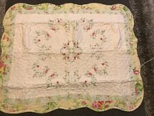 Mary Jane's Quilted Prairie Bloom Standard Pillow Sham 20�x26� Multi