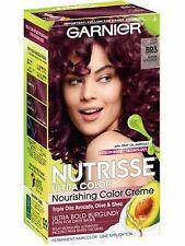 Garnier Nutrisse Color Permanent Hair Color, BR3, Lotus Berry, Intense Burgundy