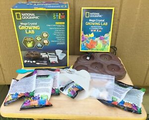 National Geographic Mega Crystal Growing Lab Kit Educational Learning Toy 99%