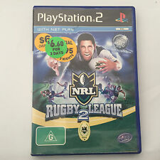 NRL Rugby League 2 - Playstation 2 Game - ExRental