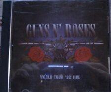 Guns N' Roses World Tour '92 Live  tour compilation CD 30 DAYS WARRANTY.