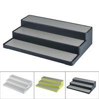 Cabinet Organizer Storage Shelf Spice Jar Rack 1xHome Kitchens Pantry 3-Tier
