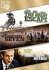 The Great Escape/The Magnificent Seven/The Thomas Crown Affair (3-DVD, 2014)