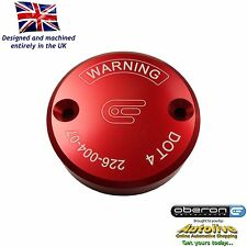 Oberon Performance Red Ducati Front Brake Reservoir Cap RES-0004-RED