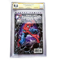 Amazing Spider-Man v2 #34 CGC 9.8 SS Signature Series J Scott Campbell Collector