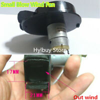 3v~5v 4.8v 380 Mini DC Motor Electric Small Blower Blow Wind Fan for Project DIY