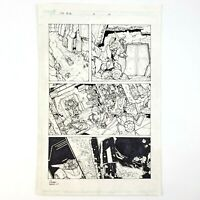 Transformers RID Issue #3 Page 10 Original Comic book Art by Andrew Griffith IDW